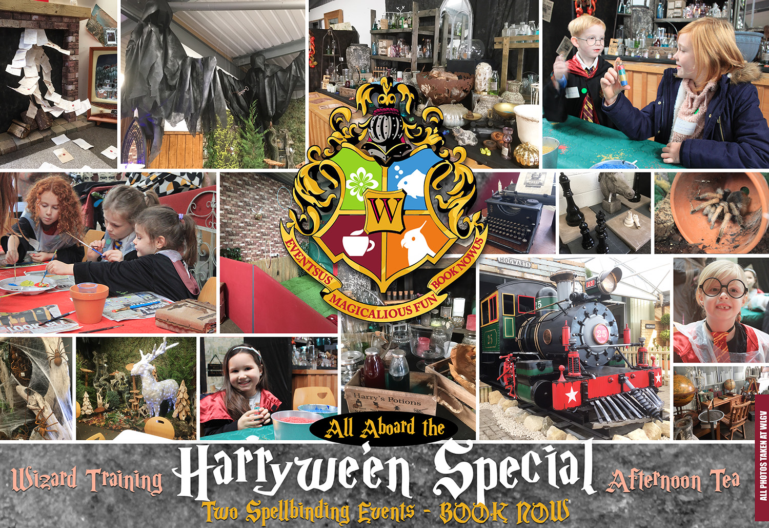 harry potter event northamptonshire