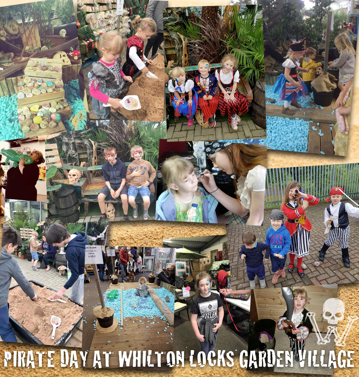pirate event at Whilton Locks