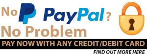 No Paypal - No Problem